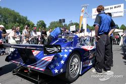 Intersport Racing Lola Judd goes to scrutineering