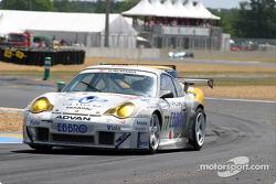 La Porsche 911 GT3 RSR n°77 du Choroq Racing Team (Kazuyuki Nishizawa, Haruki Kurosawa, Manabu Orido)