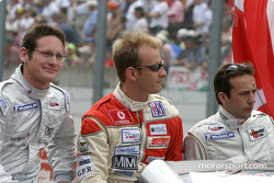 Drivers presentation: Gunnar Jeannette, Gavin Pickering, Renaud Derlot