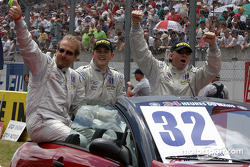Présentation des pilotes : Rick Sutherland, Clint Field, William Binnie
