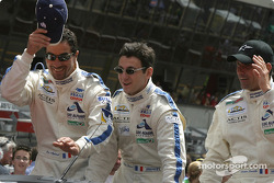 Drivers presentation: Luc Alphand, Christian Lavieille, Philippe Almeras