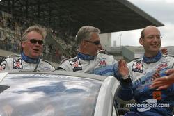 Présentation des pilotes : Ian Donaldson, Gregor Fisken, Lars-Erik Nielsen