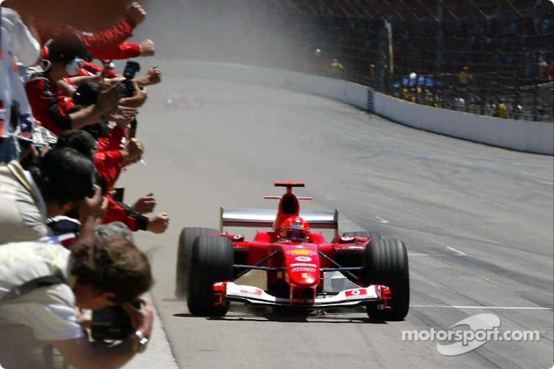2004 год. Михаэль Шумахер, Ferrari