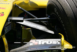 Auto dañado de Giorgio Pantano, Jordan