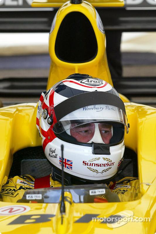 Nigel Mansell. último ganador en Río en F1