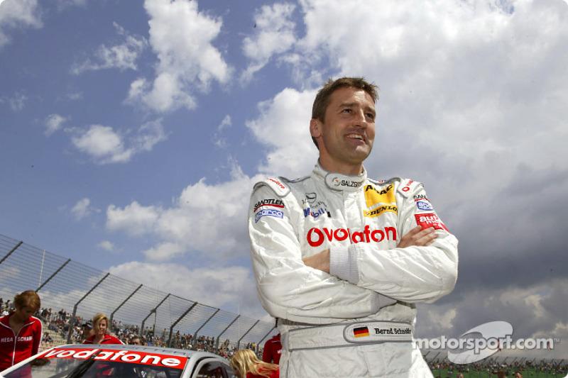 Bernd Schneider on the starting grid