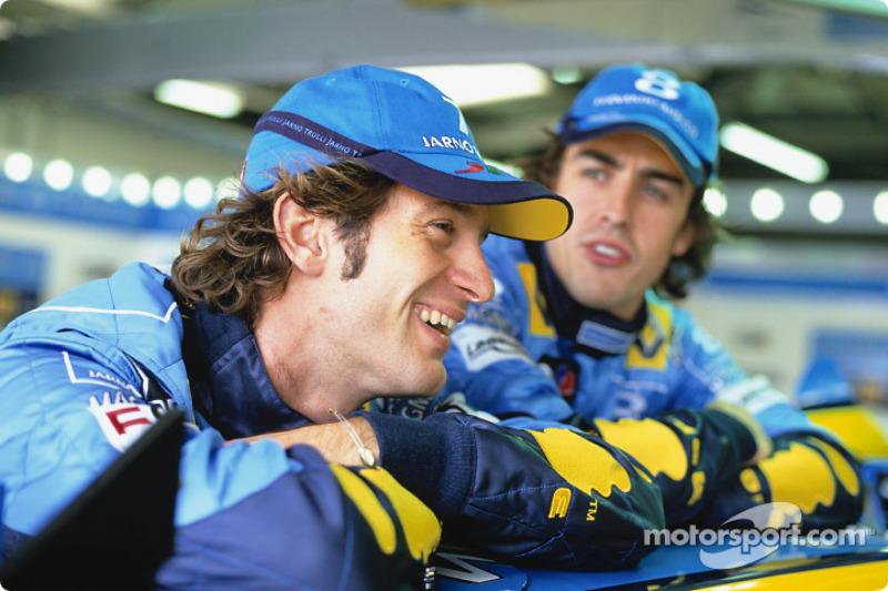 2003-2003 - Renault: Jarno Trulli