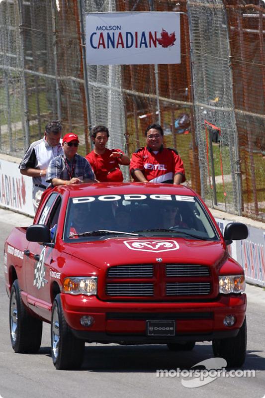 La parade des pilotes : Roberto Gonzalez