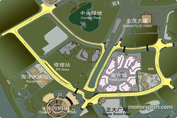 Map of the Streets of Shanghai track