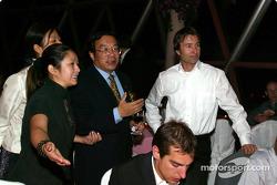 DTM Gala in Oriental Pearl Tower: Heinz-Harald Frentzen