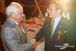 DTM Gala in Oriental Pearl Tower: ITR President Hans Werner Aufrecht