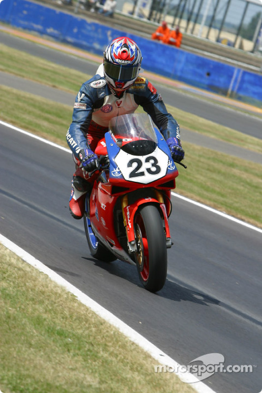 Richard Cregan, Team Toyota