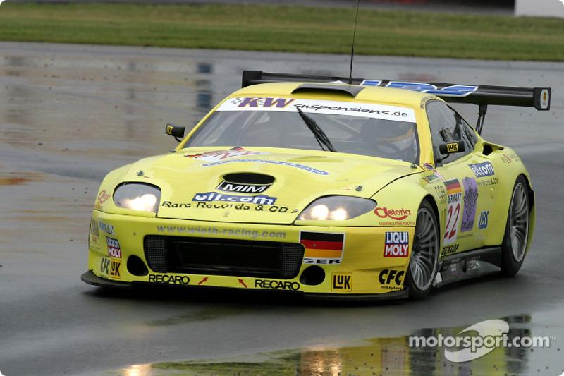 #22 Wieth Racing Ferrari 550 M Maranello: Mark Mayall, Wolfgang Kaufmann, Rob Croydon