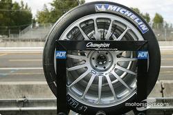Les pneus du Champion Racing