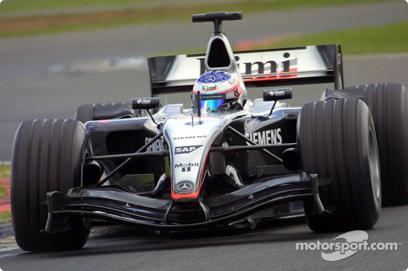 2004: McLaren MP4-19 Mercedes (одно пятое место)
