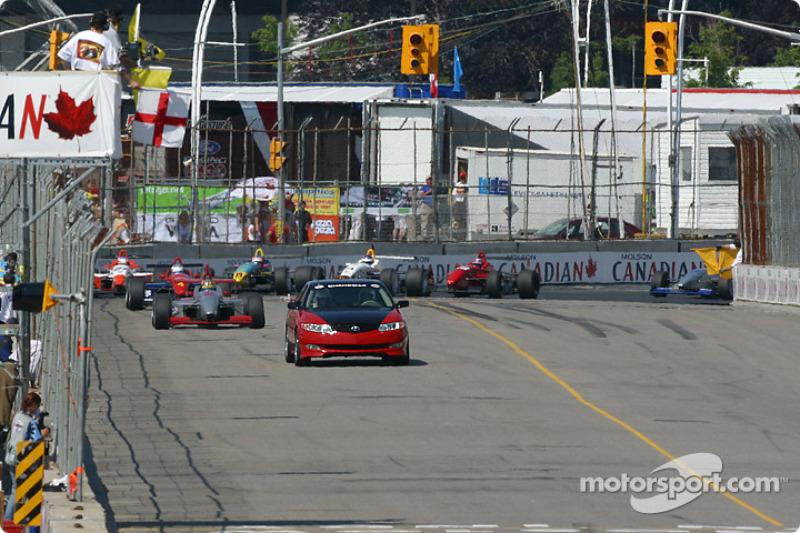 Le Pace Car est de sortie au 5e tour