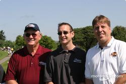 Brickyard 400 driver golf outing: Kurt Busch and friends