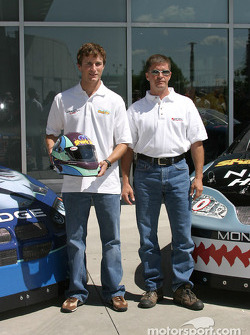Kasey Kahne and Ward Burton