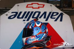 Scott Riggs' helmet