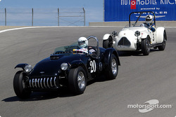 N°20 1953 Kurtis 500S, Duncan Emmons, n°3 1949 Jaguar-Parkinson Special, John Buddenbaum