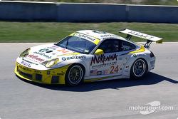 #24 Alex Job Racing Porsche 911 GT3 RSR: Marc Lieb, Romain Dumas
