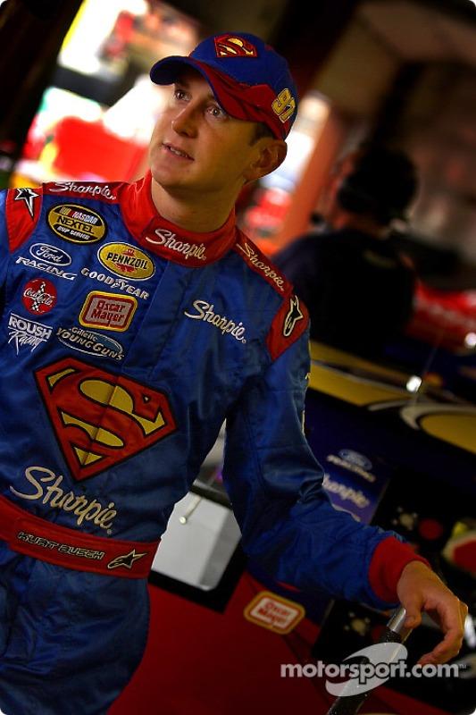 Kurt Busch, com seu macacão Superman em 2004