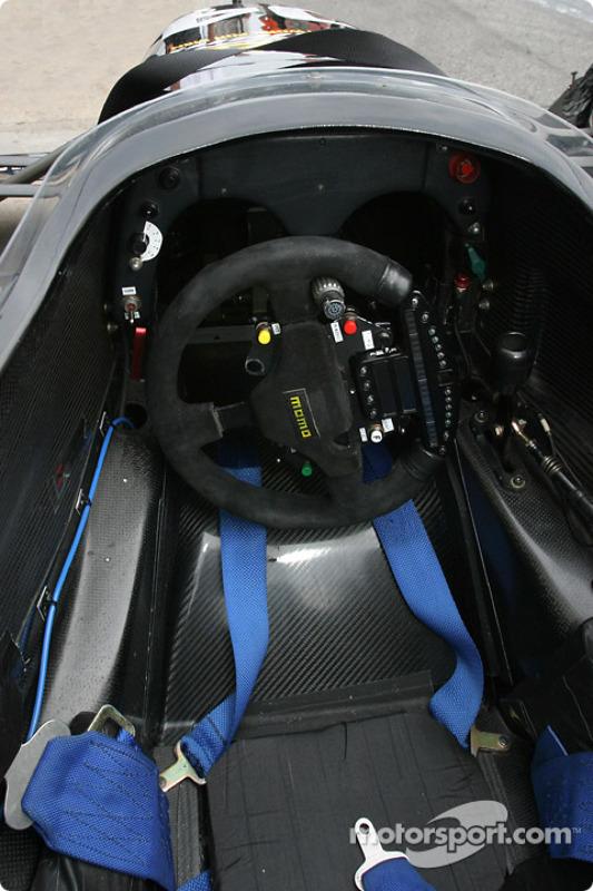 ChampCar Bi-Place : la vue du pilote