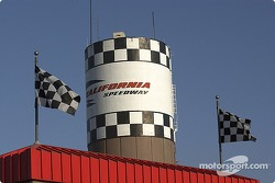 The speedway watertower