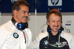 Dr Mario Theissen and Dr Heinz Paschen