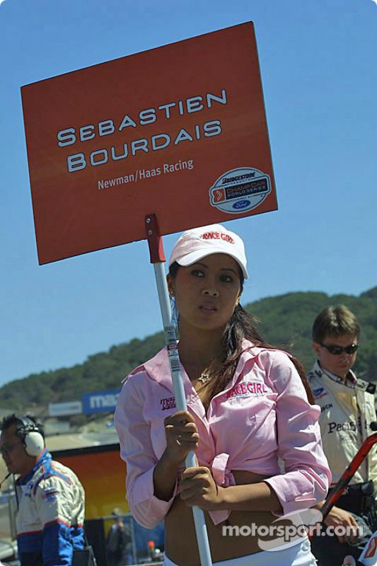 La Grid Girl de Sébastien Bourdais