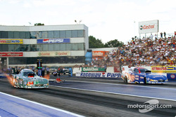 Funny Car final with John Force and Gary Densham