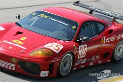#35 Risi Competizione Ferrari 360 Modena GTC: Ralf Kelleners , Anthony Lazzaro, Fabrizio De Simone