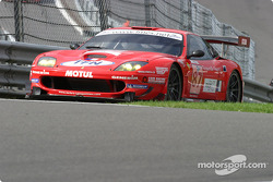 #87 Larbre Ferrari 575 Maranello: Tomas Enge, Robert Pergi, Patrice Goueslard