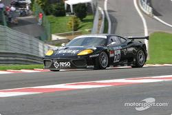 #70 JMB Racing Ferrari 360 Modena: Roman Rusinov, Stéphane Daoudi