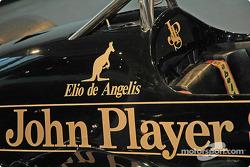 Elio De Angelis Lotus car