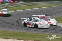 #86 G&W Motorsports Porsche GT3 Cup: Mae Van Wijk, Craig Stanton, #02 CGR Grand Am Lexus Riley: Jimmy Morales, Luis Diaz