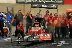 Doug Kalitta launching