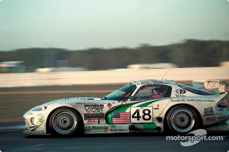 #48 Canaska Southwind Motorsport Chrysler Viper GTS-R: Price Cobb, Mark Dismore, Shawn Hendricks
