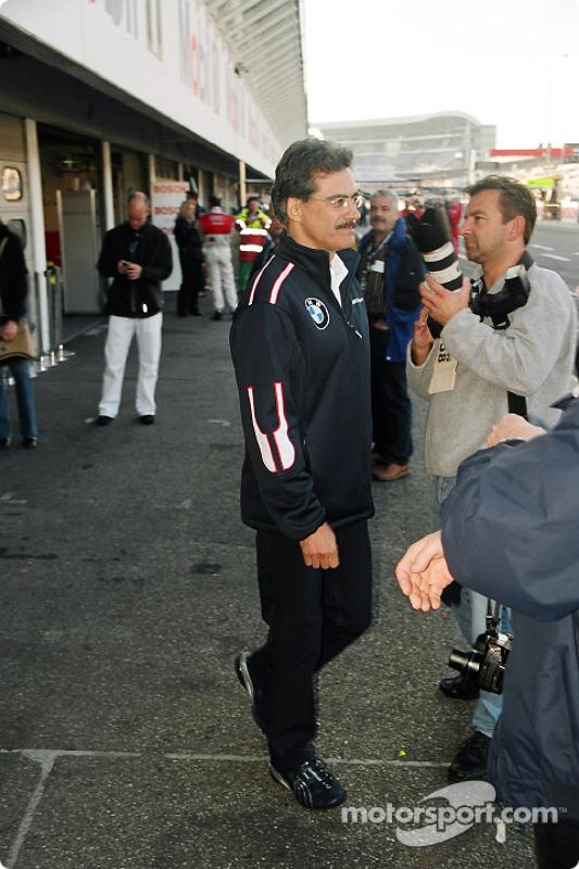 Mario Theissen, BMW-Sportchef