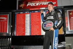Pole winner Ryan Newman