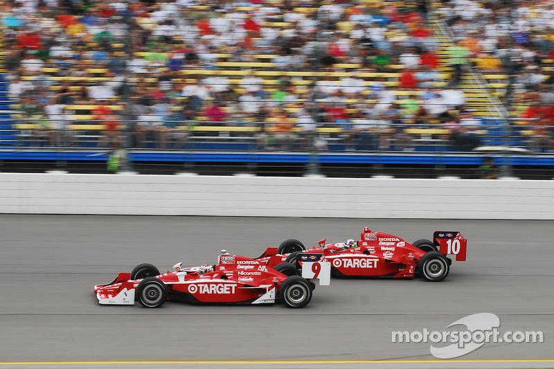Scott Dixon, Target Chip Ganassi Racing et Dario Franchitti, Target Chip Ganassi Racing