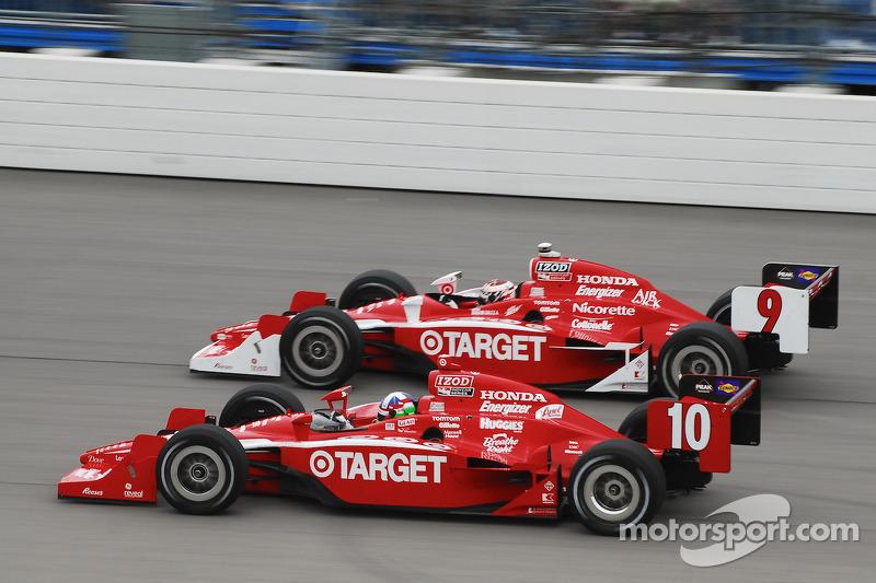 Scott Dixon, Target Chip Ganassi Racing en Dario Franchitti, Target Chip Ganassi Racing