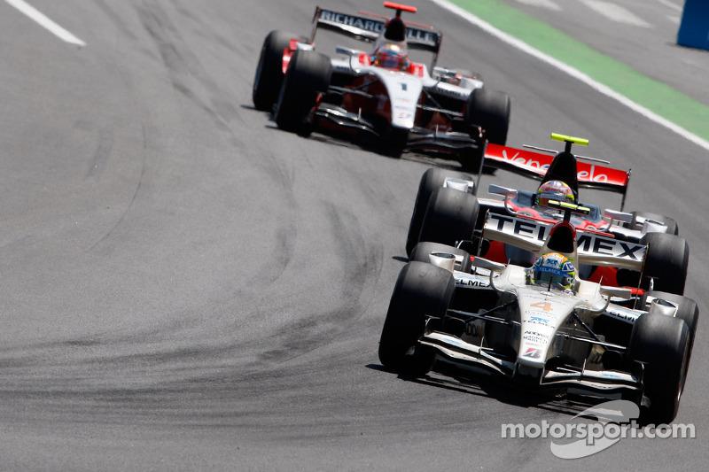 Sergio Perez voor Pastor Maldonado en Jules Bianchi