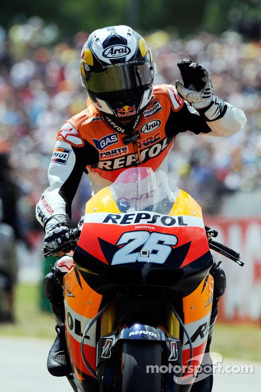2de plaats Dani Pedrosa, Repsol Honda Team
