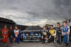 NASCAR Nationwide Ford teamfoto