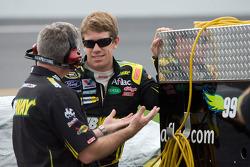 Carl Edwards, Roush Fenway Racing Ford and Bob Osborne