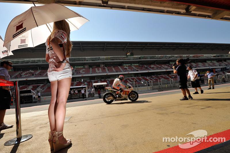 El italiano en el Circuit de Catalunya