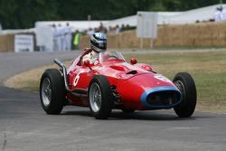 1957 Maserati 250F V12: Moritz Werner