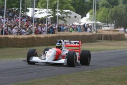 1993 McLaren Cosworth MP4/8 (Ayrton Senna): Bruno Senna