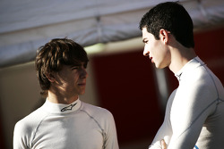 Esteban Gutierrez talks to Alexander Rossi